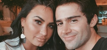 Demi Lovato broke things off with her creepy thirst-tweeting fiance Max Ehrich