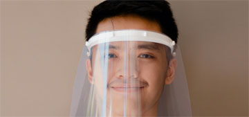 Japanese study shows face shields do not stop the spread of smaller airborne droplets