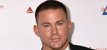 Channing Tatum posts shirtless selfie: 'Daddy is finally back'