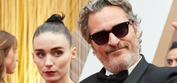Joaquin Phoenix & Rooney Mara welcomed a son, they named him River