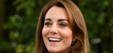 Duchess Kate steps out (maskless) to assume the co-presidency of the Scouts