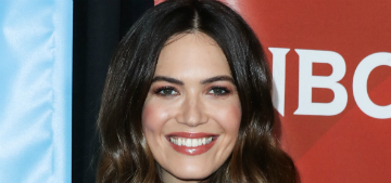 Mandy Moore is having a rough first trimester, has food aversions