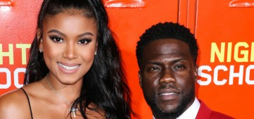 """Kevin Hart & Eniko Parrish welcomed their daughter Kaori Mai"" links"