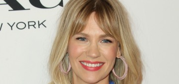 January Jones' DIY bath involves beer, 'what Cleopatra would put in her baths'