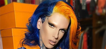 Jeffree Star's boyfriend of one month denies stealing from him after their split