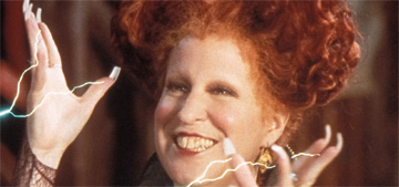 Bette Midler says a Hocus Pocus sequel is coming: 'We're just talking logistics'