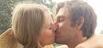 Toni Garrn wore a champagne slipdress for her Hamburg wedding to Alex Pettyfer