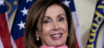 Nancy Pelosi thinks steroids are rotting Donald Trump's brain, agree or disagree?