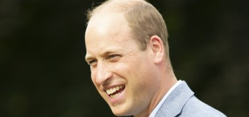 Prince William's documentary was just about him declaring his keenness, right?