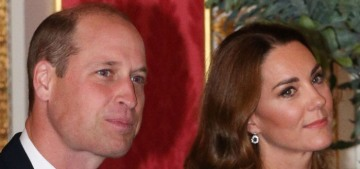 Prince William & Kate welcomed the Ukrainian president to Buckingham Palace