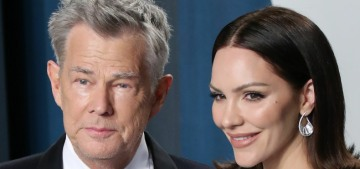 Katharine McPhee, 36, is knocked up with 70-year-old David Foster's sixth child