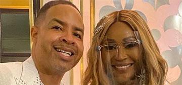 Cynthia Bailey of RHOA had a 250 person wedding indoors, videos show no masks