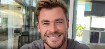 Chris Hemsworth is supporting Australian tourism with his abs