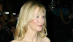 Cate Blanchett has got to be pregnant