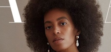Solange Knowles covers Harper's Bazaar & lets them publish her poems