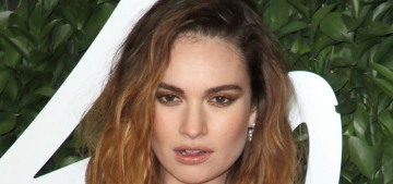 Did Lily James call Dominic West's wife to convince her there was no affair?!