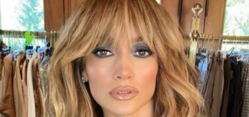 Jennifer Lopez got pandemic fringe & went out to dinner with A-Rod in LA