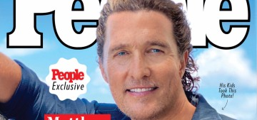 Matthew McConaughey: 'The only thing I ever knew I wanted to be was a father'