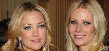 Kate Hudson & Gwyneth Paltrow gossip about which costars were good kissers