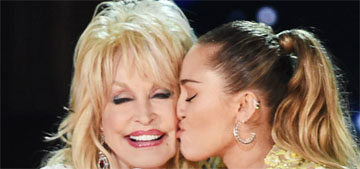 Miley Cyrus: Dolly Parton faxes me, she gets mad when you don't respond