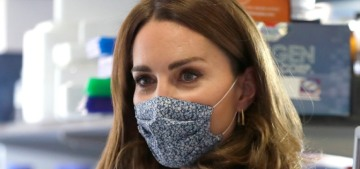 Duchess Kate cosplays a scientist to highlight Baby Loss Awareness Week