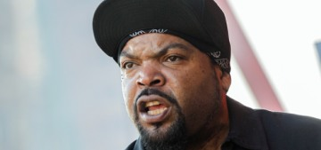 Ice Cube is either completely MAGA or he's being conned by Trumpers