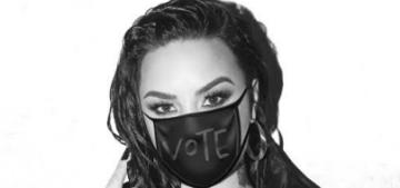 NBC censored Demi Lovato at the Billboard Awards telling people to vote