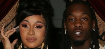 Cardi B & Offset are basically back together, one month after she filed for divorce
