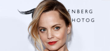 Mena Suvari is pregnant: 'I'm 41 and there's this air like I've got one foot in the grave'