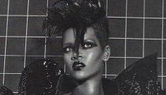 Rihanna gets bound & muzzled in sketchy Italian Vogue photo shoot