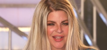 Kirstie Alley: 'I'm voting for Donald Trump because he's NOT a politician'