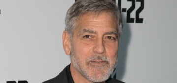 George Clooney: 'The most patriotic thing…is to question your government'