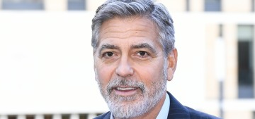 George Clooney: 'It doesn't hurt to lose.  It hurts to not try.'