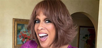 Gayle King posts photo of her scale: 'fatter than I've been in long time'
