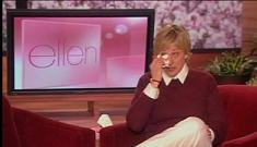 Ellen's re-gifted a dog before
