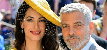 The Clooneys told people they didn't know Harry & Meghan at the Sussexes' wedding