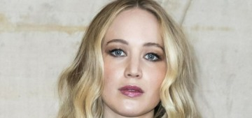 Jennifer Lawrence clarifies: she became a Democrat after voting for McCain in '08