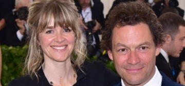 Dominic West's wife Catherine debates whether to 'walk away' from the marriage
