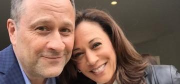 Kamala Harris & her husband Doug Emhoff got a nice People Mag profile