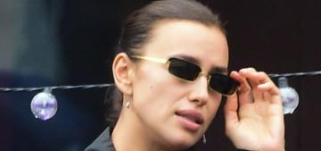 Irina Shayk's street style involves $3K Burberry raincoat & $2K Chanel boots