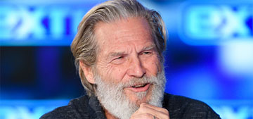 Jeff Bridges shares a new photo: 'It feels good, getting all the well wishes & love'