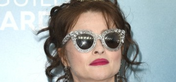 Helena Bonham Carter on wearing corsets: 'There's a lot to be said for it, really'