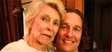 Matthew McConaughey's mom would deliberately call his GFs the wrong names