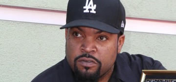 Ice Cube still thinks he deserves credit for being a Trump prop or something