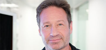 David Duchovny's 90 year-old mom just voted for the first time because she hates Trump