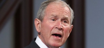 George W. Bush: Joe Biden won, but Trump has the right to sue & get recounts