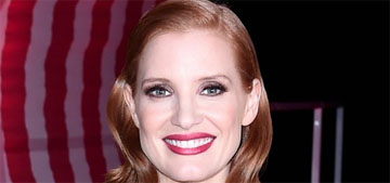 Jessica Chastain is partnering with an at home coronavirus testing company