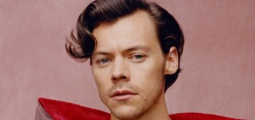 Conservative idiots criticize Harry Styles for wearing dresses in his Vogue editorial