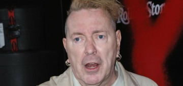 Johnny Rotten's squirrel friends gave him flea bites on his groin