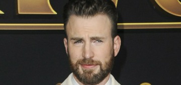 Chris Evans' thirst-trap involves a cable-knit sweater & playing the piano